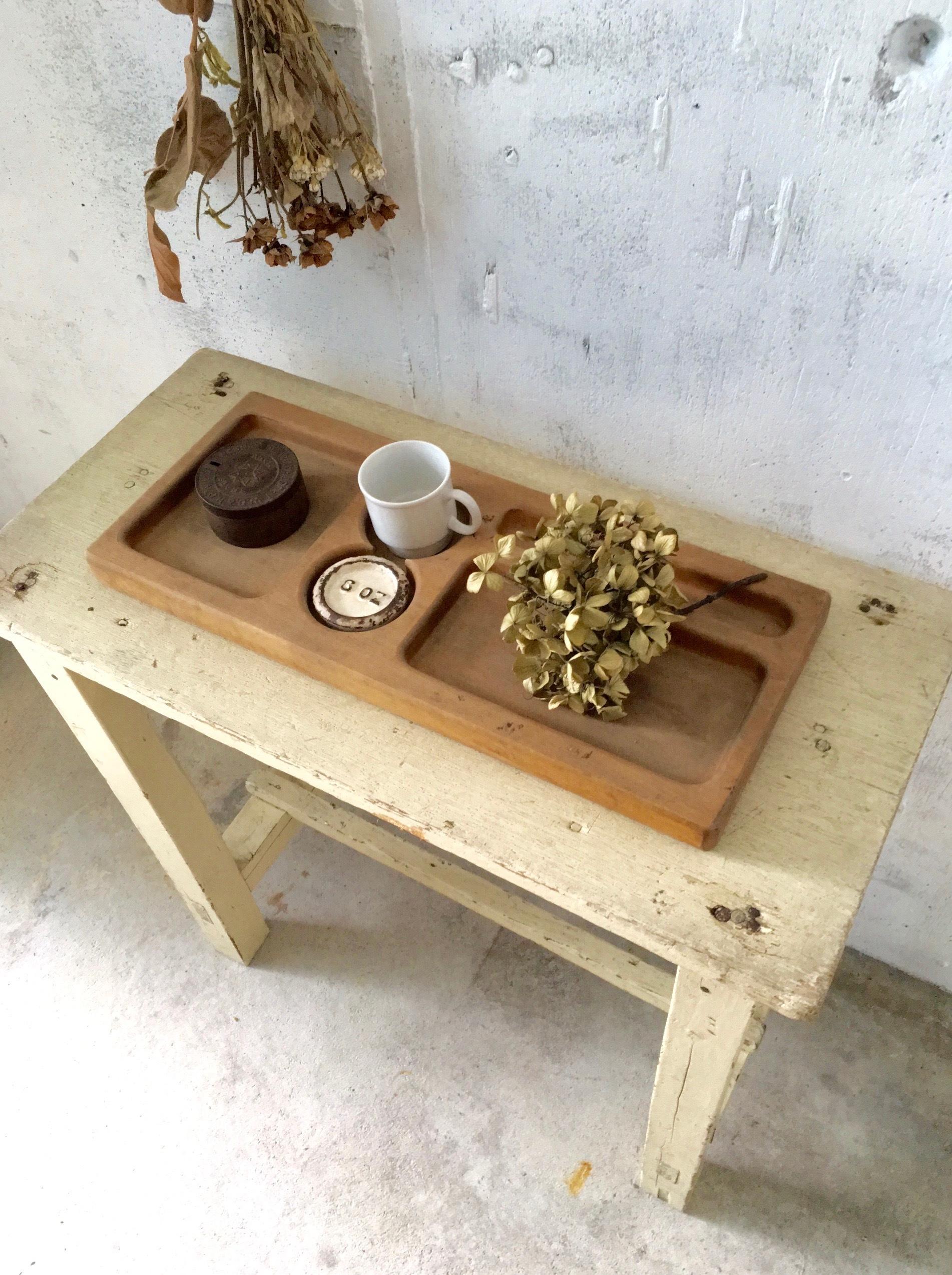 木製のトレイ[古道具]