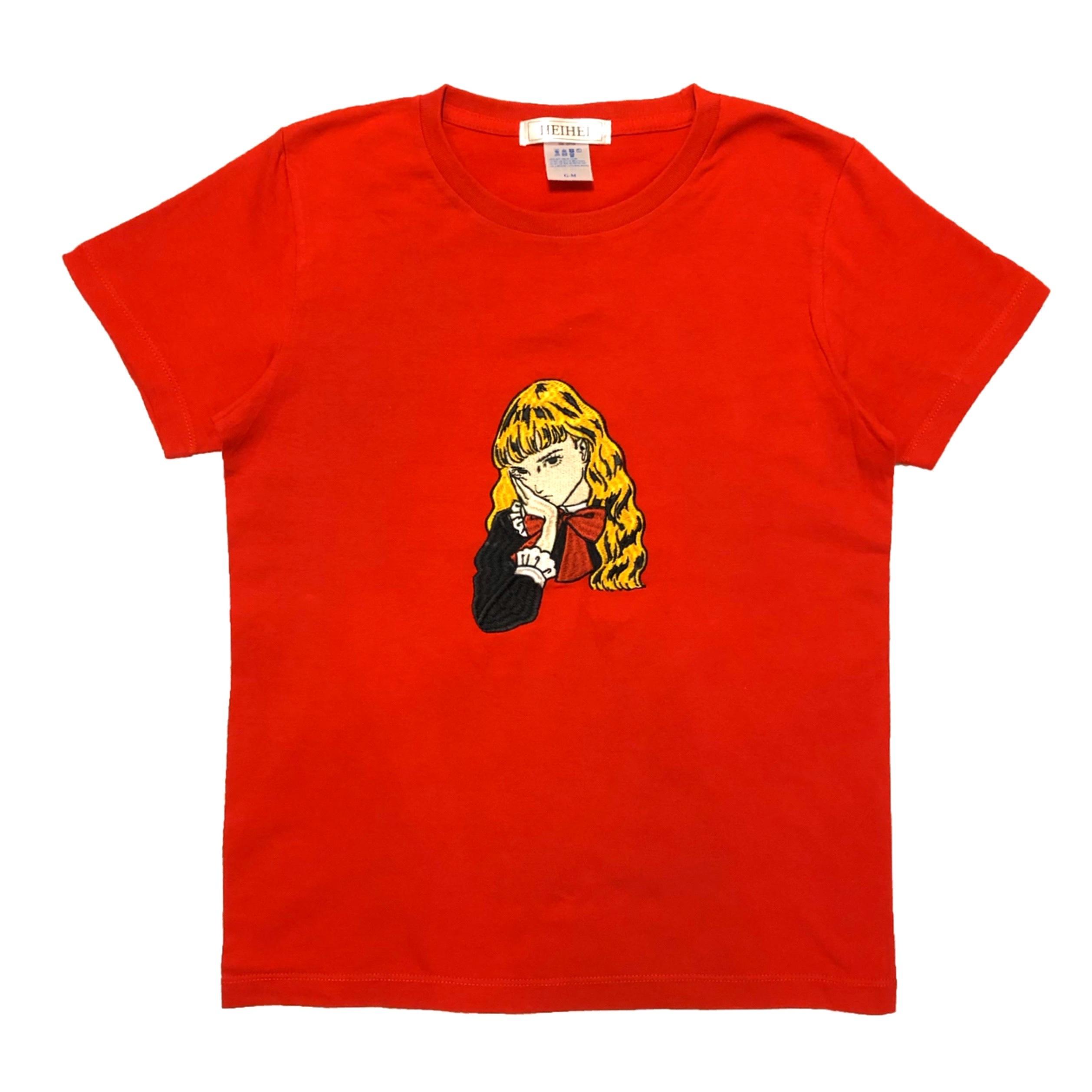 刺繍Tシャツ ガールB