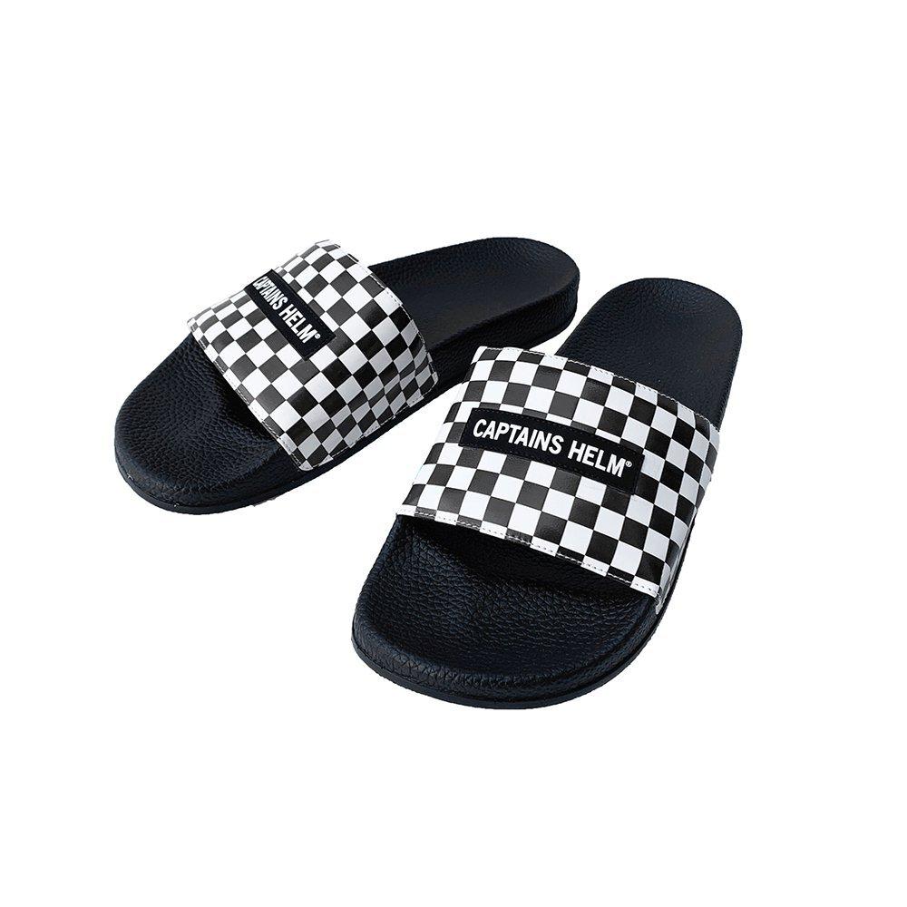 CAPTAINS HELM #Checker Shower Sandal