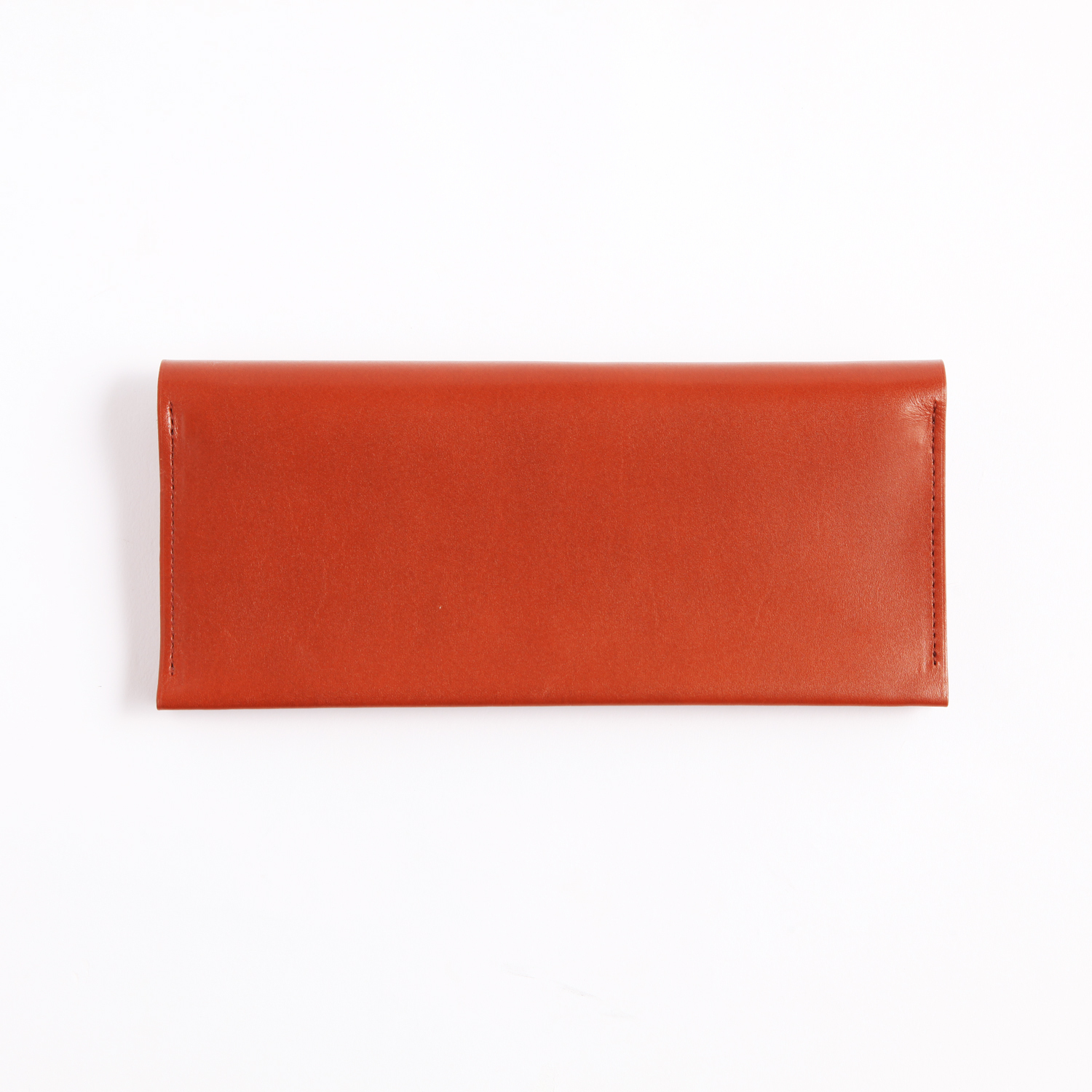 Postalco/Long Card & Coin Wallet/Brick Red