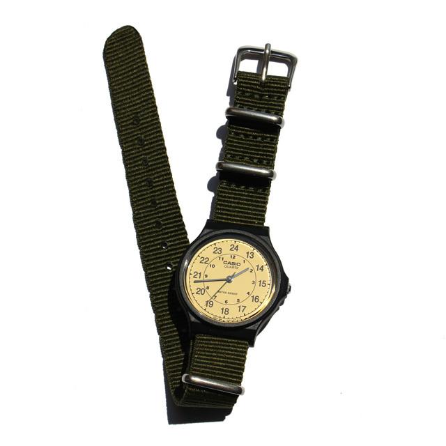CASIO BASIC WATCH 03 / NATO-type Strap