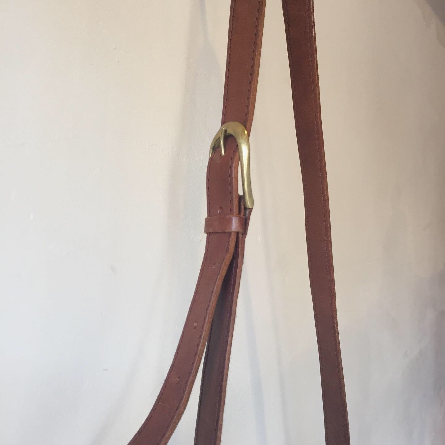 vintage leather design bag