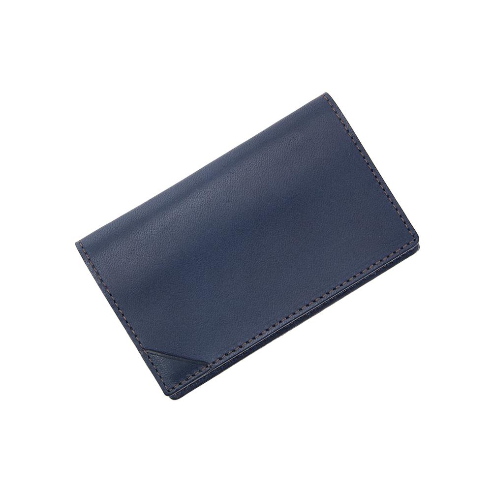 FLAT CARD CASE NAVY