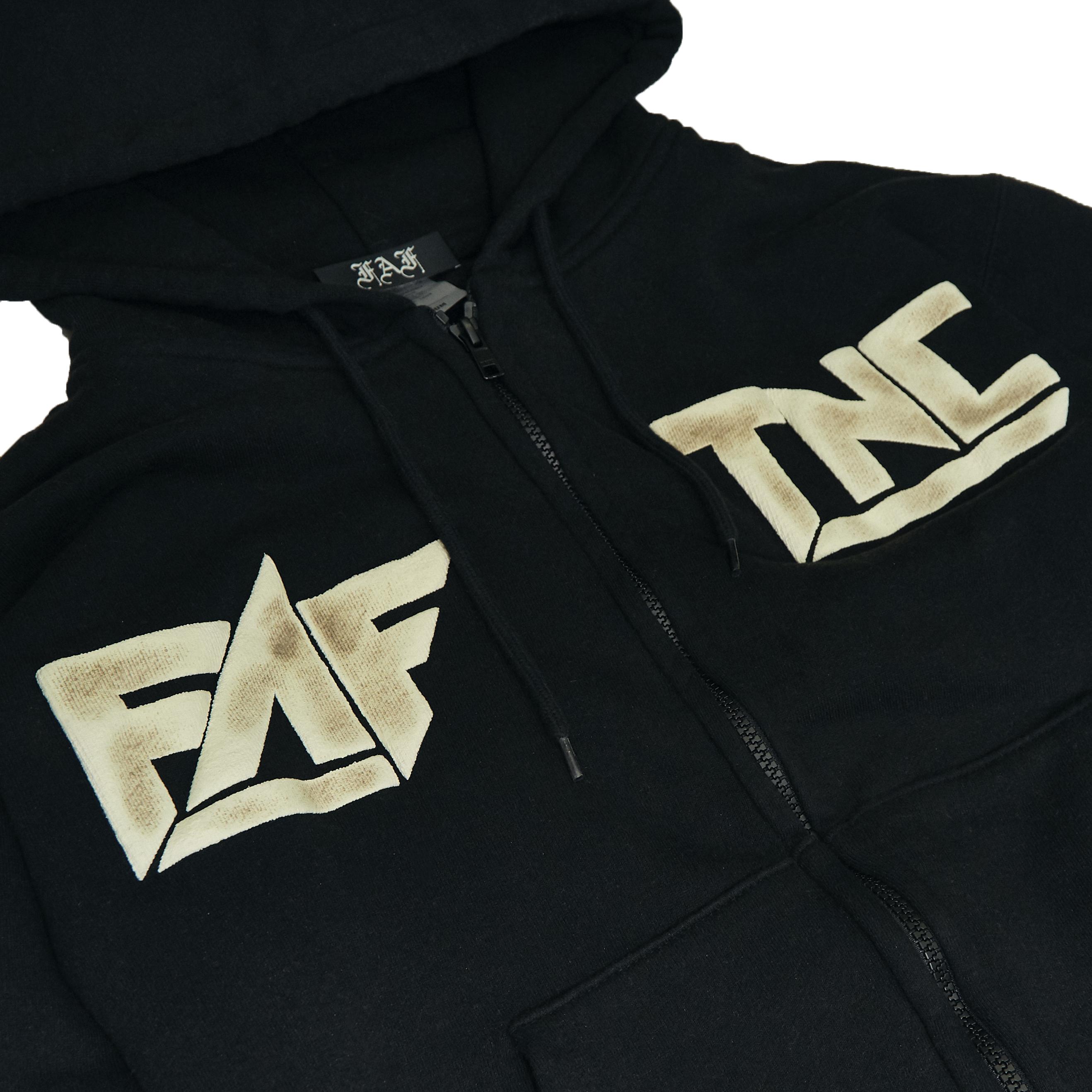 Sosa zipup hoodie -Black- - 画像2
