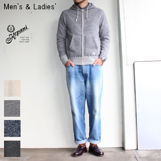 Kepani スウェットZIPパーカ Manhattan-Ⅱ TS8101MS (GRAY) 【Men's / Ladies'】