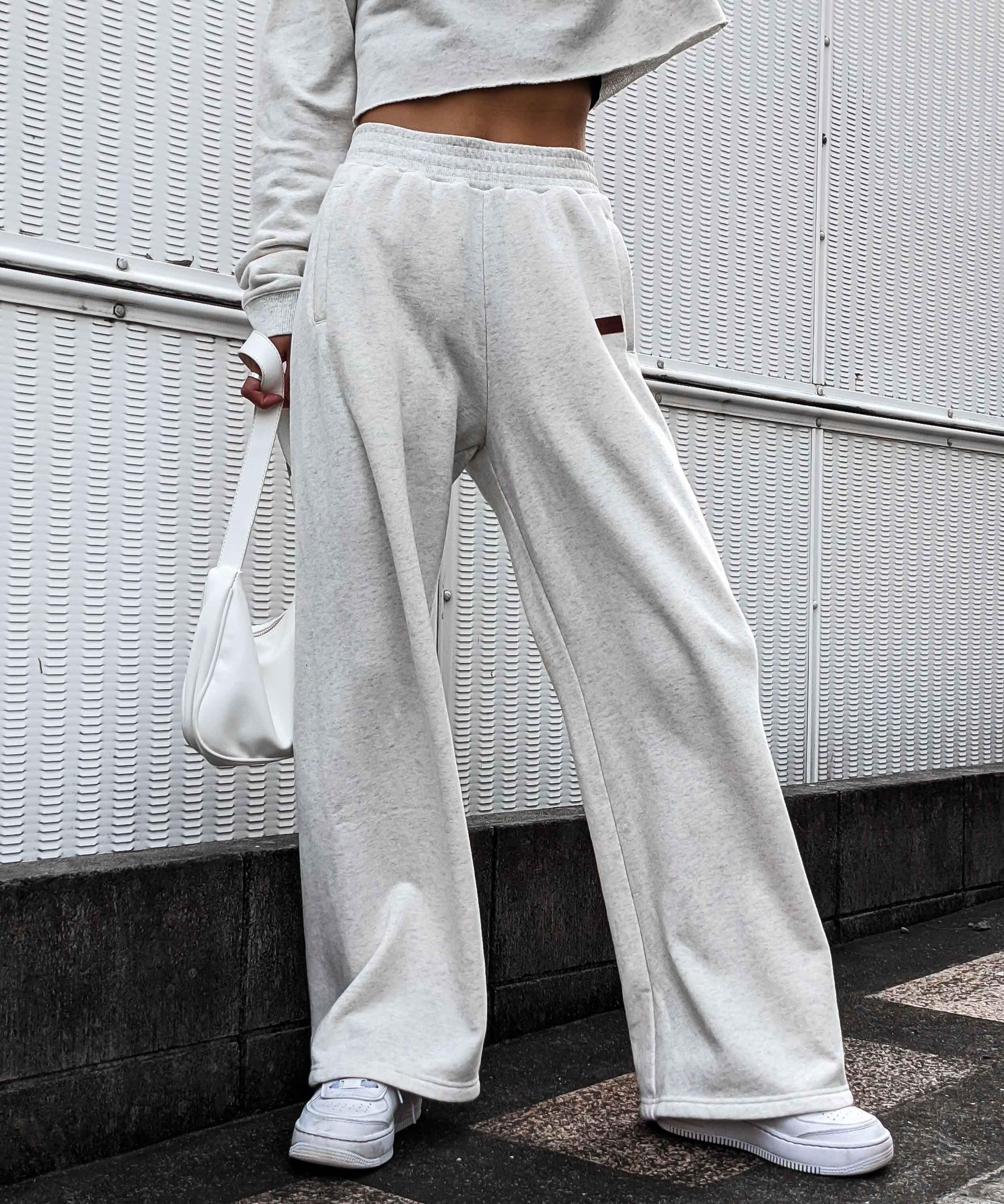Relaxy wide sweat pants
