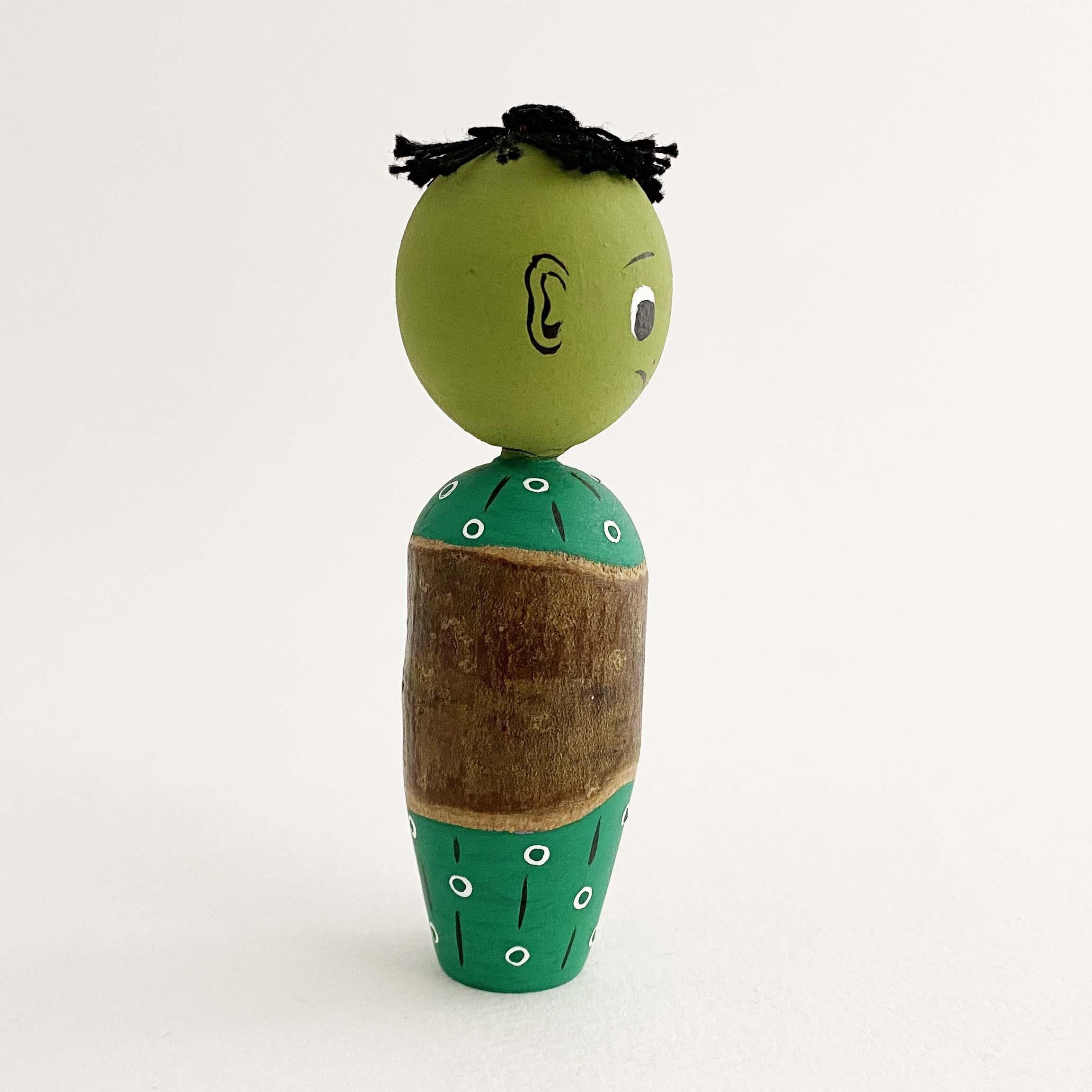 カッパくん木地人形