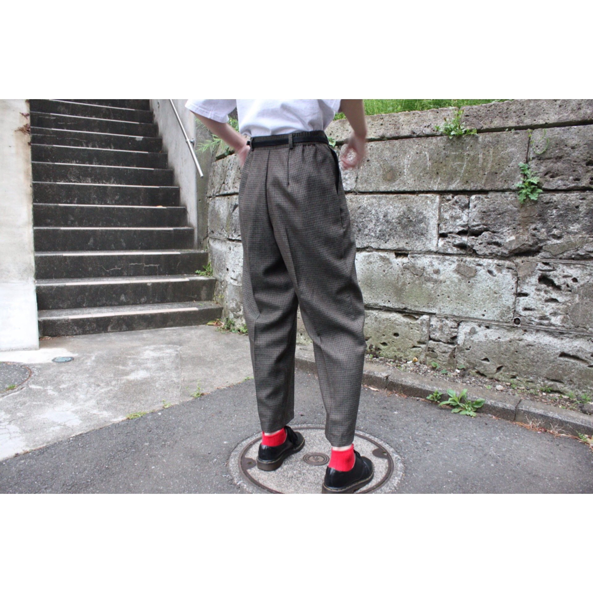 Vintage tapered slacks