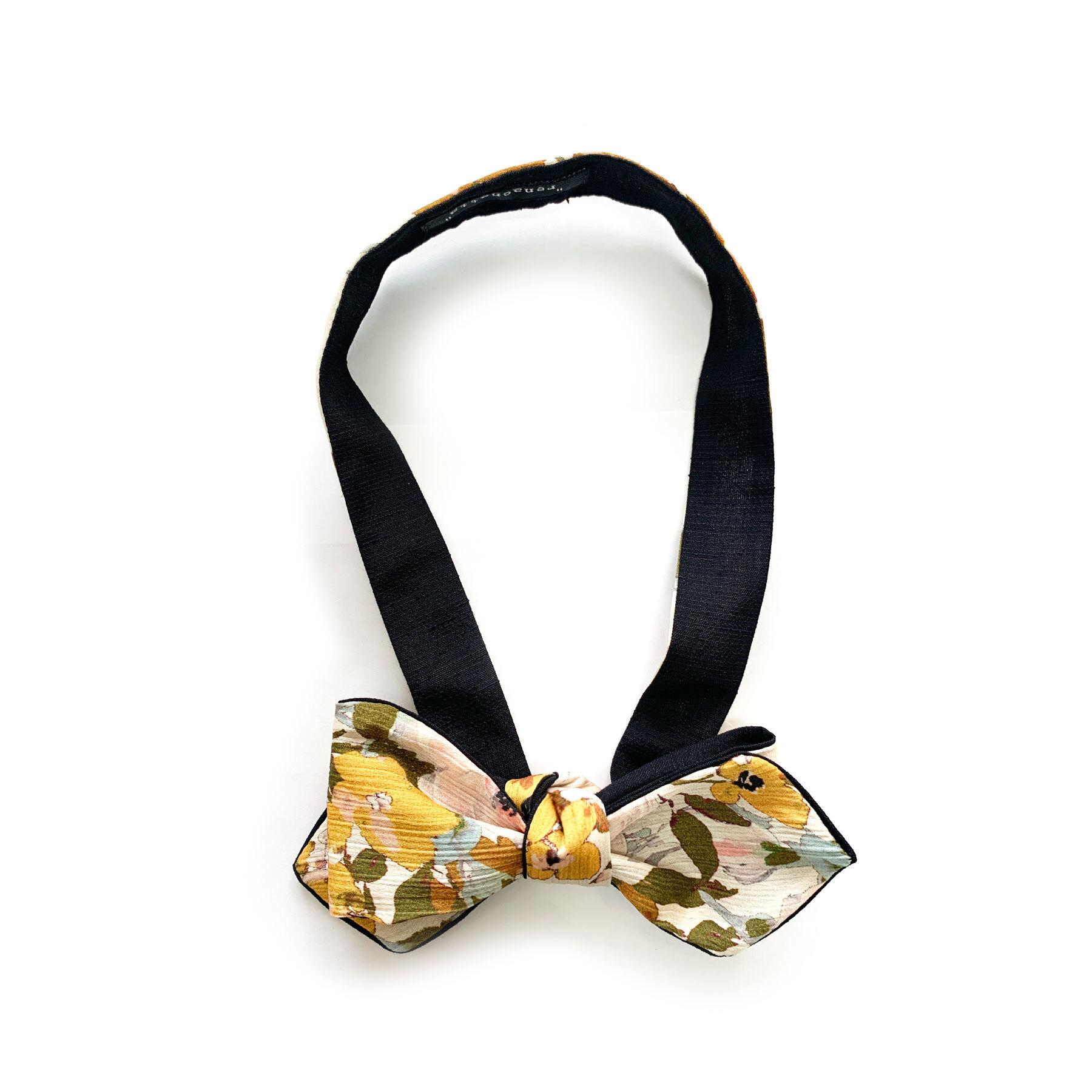 Yellow Flower - Bow Tie