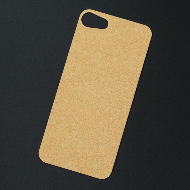 iPhone 6Plus/6s Plusバックプレート アルカンターラ シャンパン