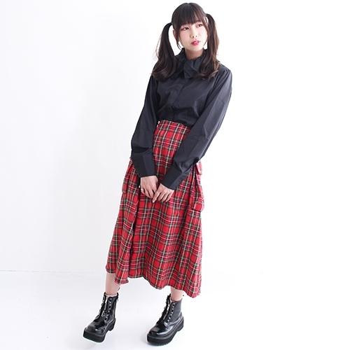 【DrugHoney】サイドポケット付きスカート