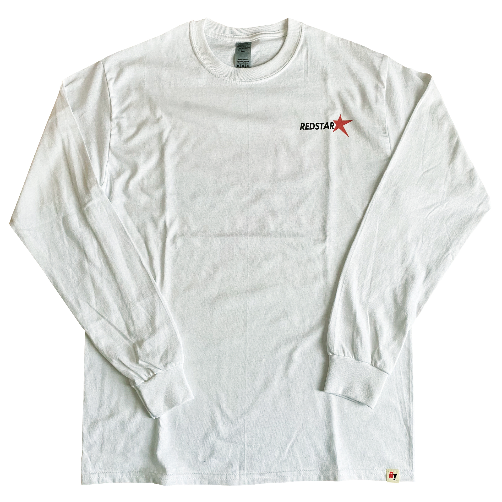 【REDSTAR】レッドスター 両面プリントロングスリーブTシャツ