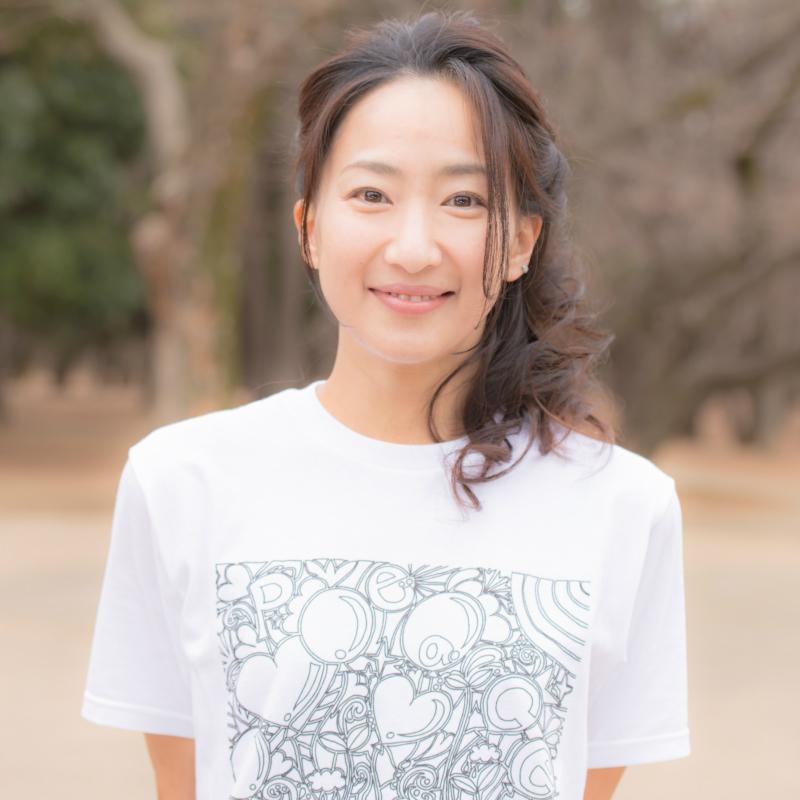 【残り僅か】T-Shirts Peace&Balloons Size-S