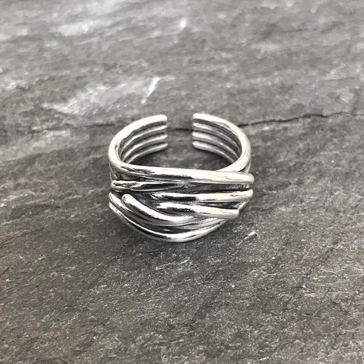 """Random Ring """"silver 925"""""""
