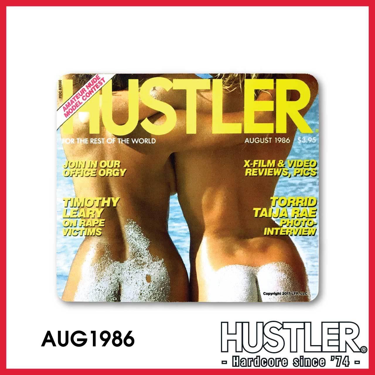 HUSTLER MOUSE PAD(ハスラー・マウスパッド) / AUGUST 1986 カバー