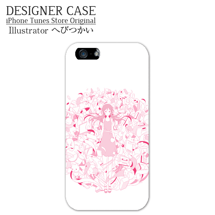 iPhone6 Soft case[yuuwaku]  Illustrator:hebitsukai