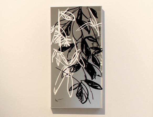 植物ドローイング・絵画・かすがの森 #8