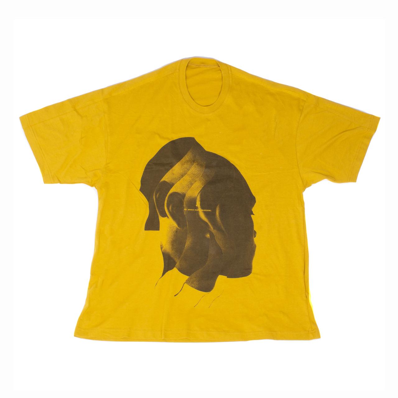 701CPM11-MUSTARD / Jesse Draxler プリント Tシャツ ver.1