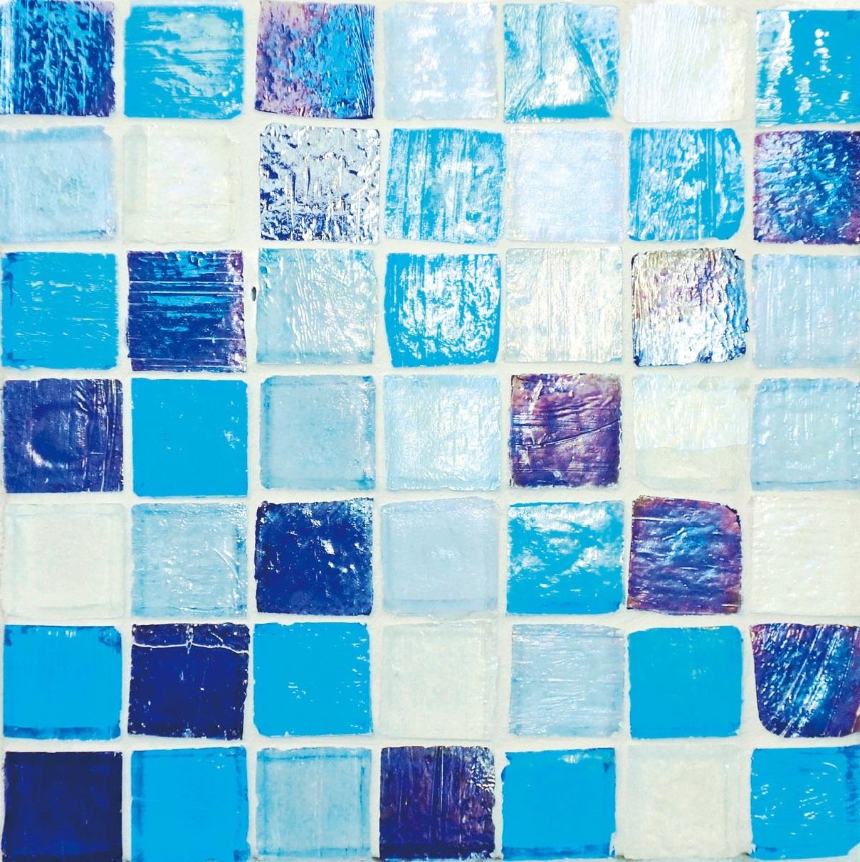 Staind Grass Mosaic【Mix c】ステンドグラスモザイク【ミックス c】