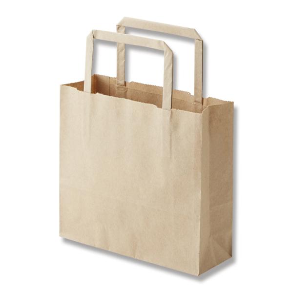 店販用 50枚組 手提げバッグ クラフト