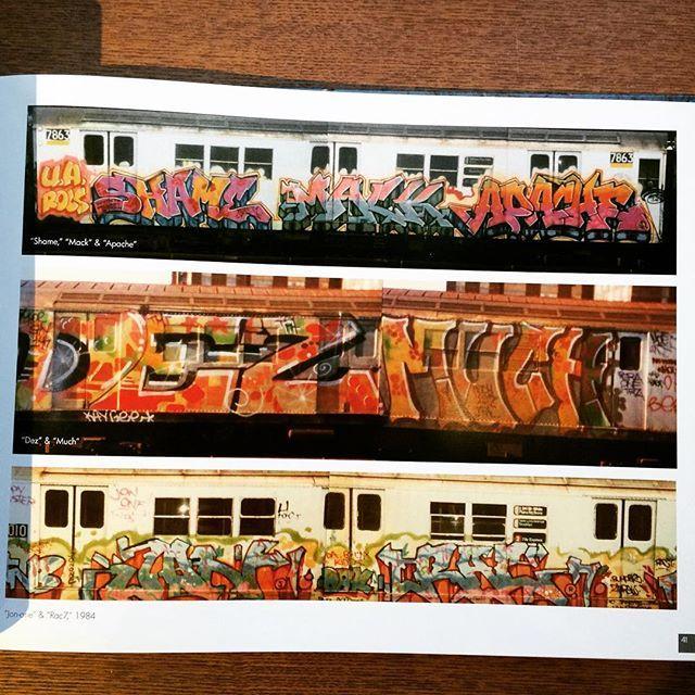 グラフィティアートの本「From the Platform: Subway Graffiti, 1983-1989」 - 画像3