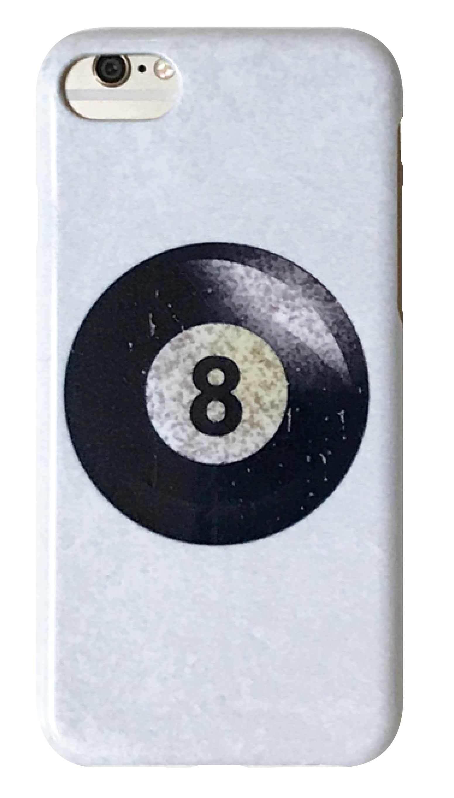 8ボール ホワイト つや有りハードケース