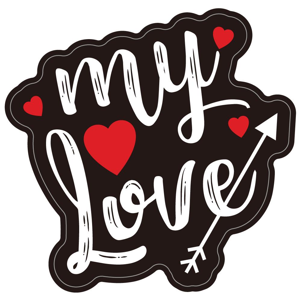 "141 my Love♡ ""California Market Center"" アメリカンステッカー スーツケース シール"