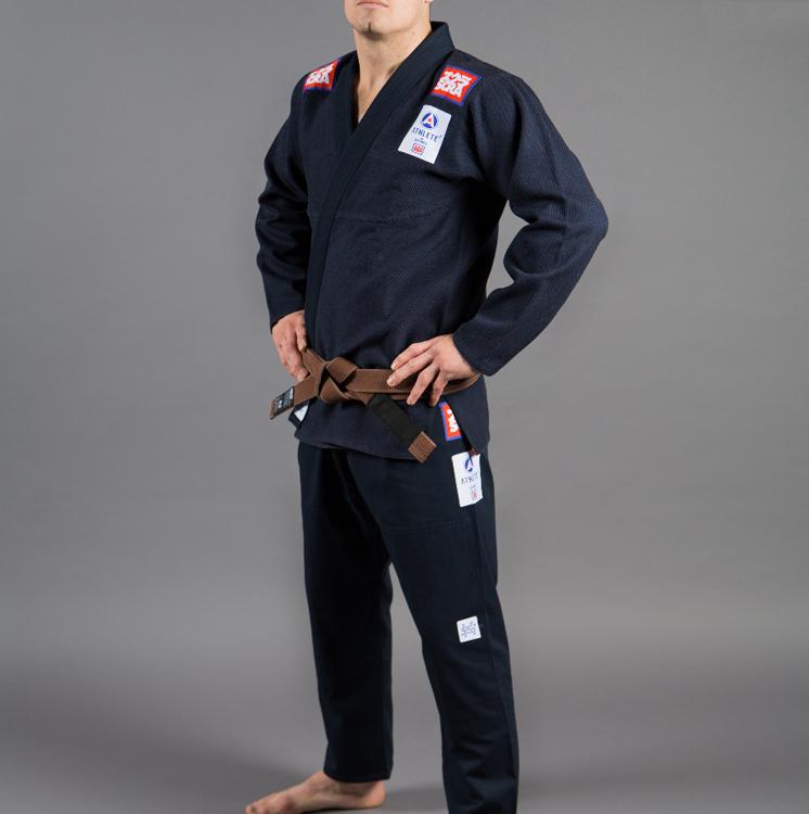 【送料無料】在庫限り スクランブル 柔術衣 アスリート 2 ネイビー Scramble  Athlete 2 【ブラジリアン柔術着】