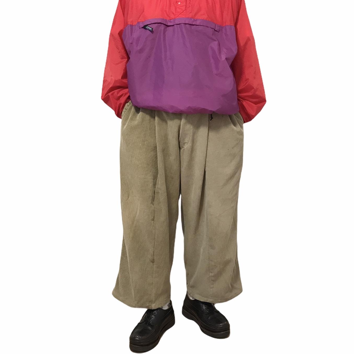 ① LIOT*Ralph Lauren Wide Corduroy Docking pants
