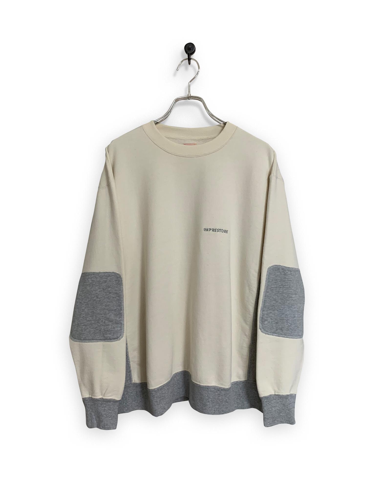 Original Sweatshirt / 2tone /  white × gray