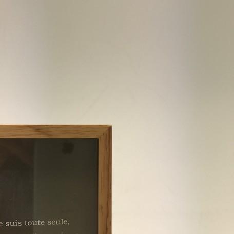 黒板付・木製フレーム(Mサイズ)