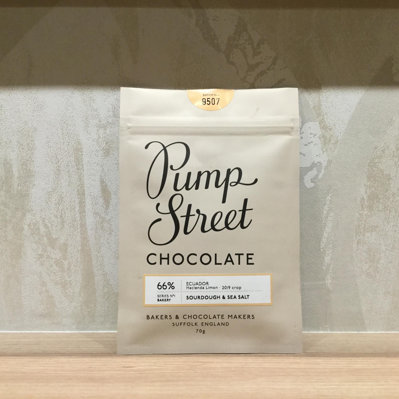 【Pump Street bakery CHOCOLATE/パンプストリートチョコレート】66%サワードウ&シーソルト