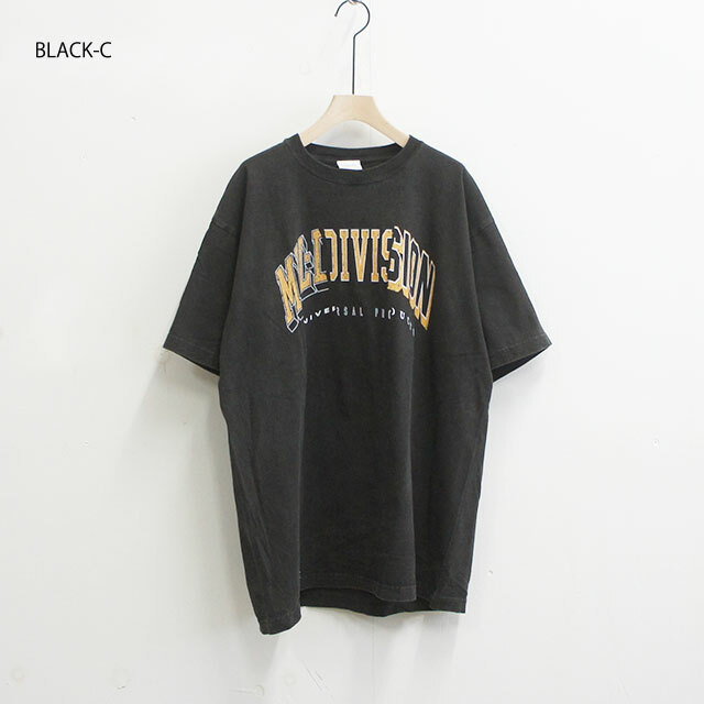 kha:ki カーキ VINTAGE BLACK TEE ヴィンテージブラックT (品番mil-19scs169a)