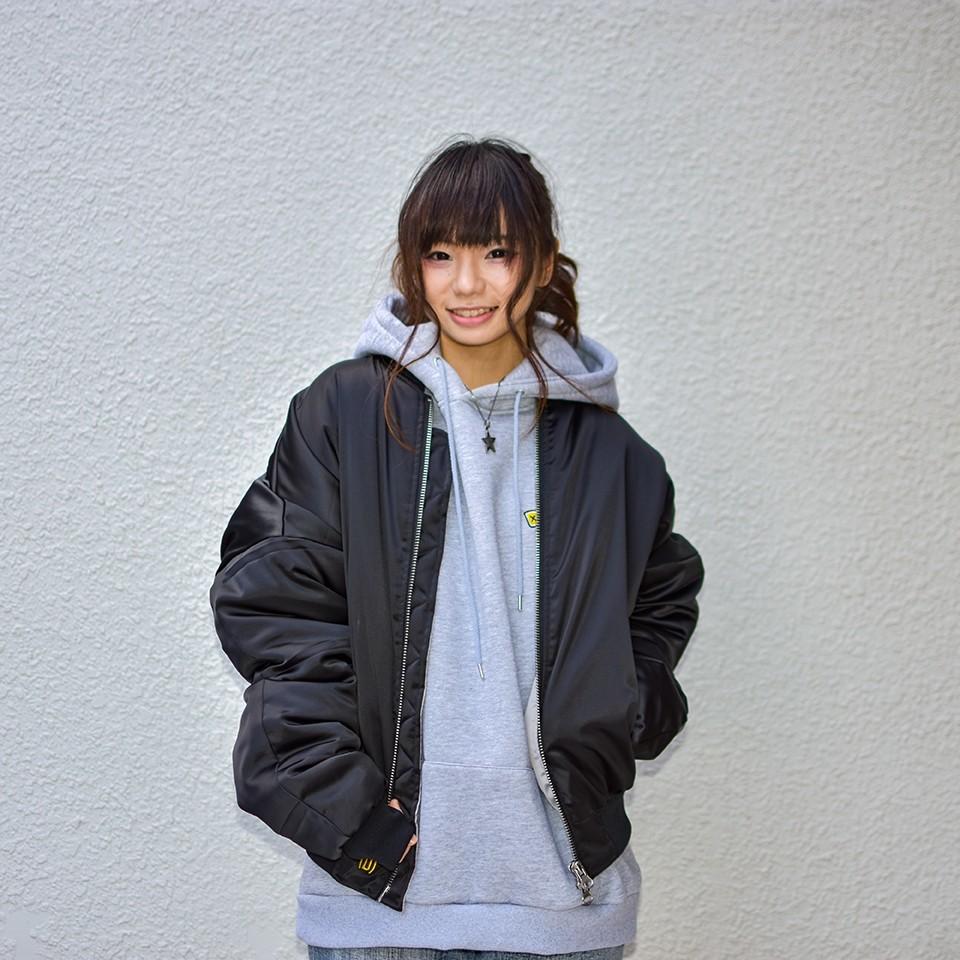【送料無料】Deviluse(デビルユース)   MA-1 JKT(Black)