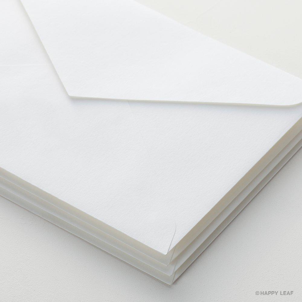コットン封筒 ホワイト(洋1)/10枚