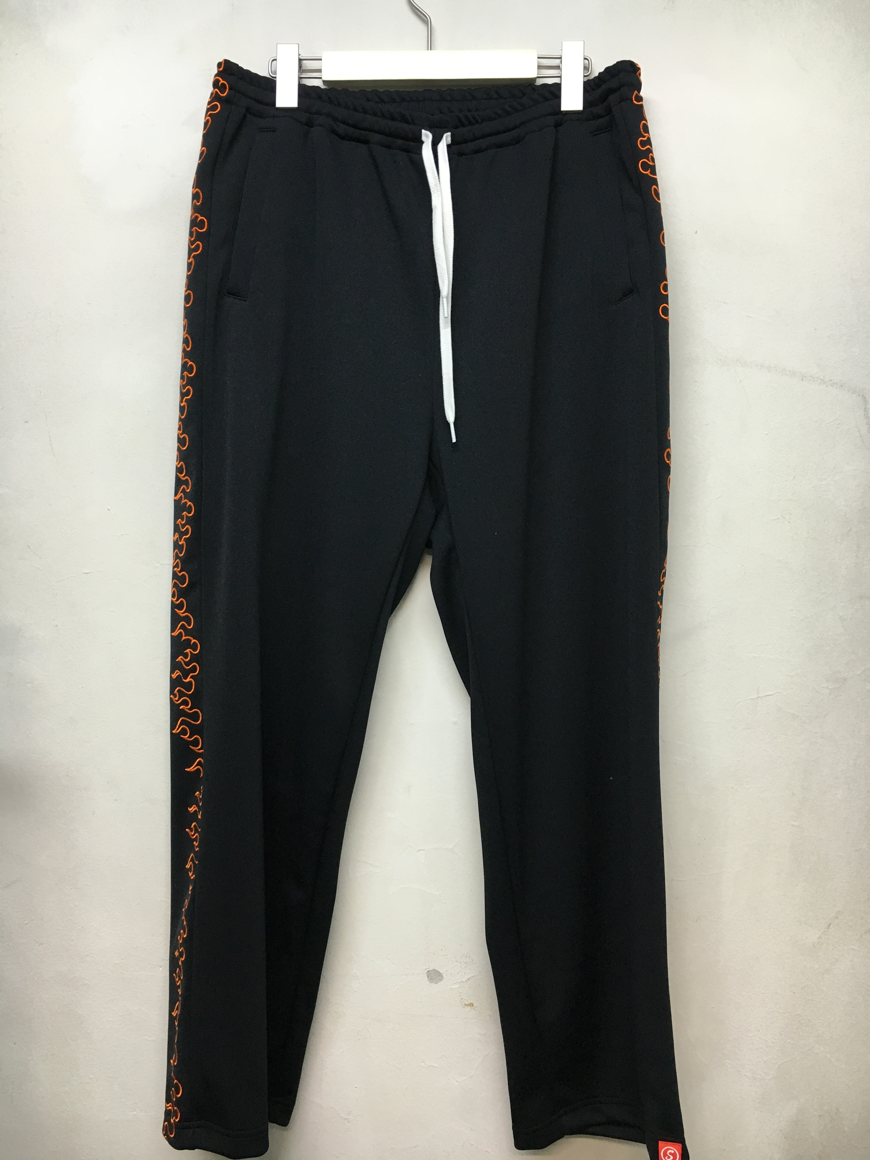 SKIN / FIRE TRACK PANTS -black - 画像1
