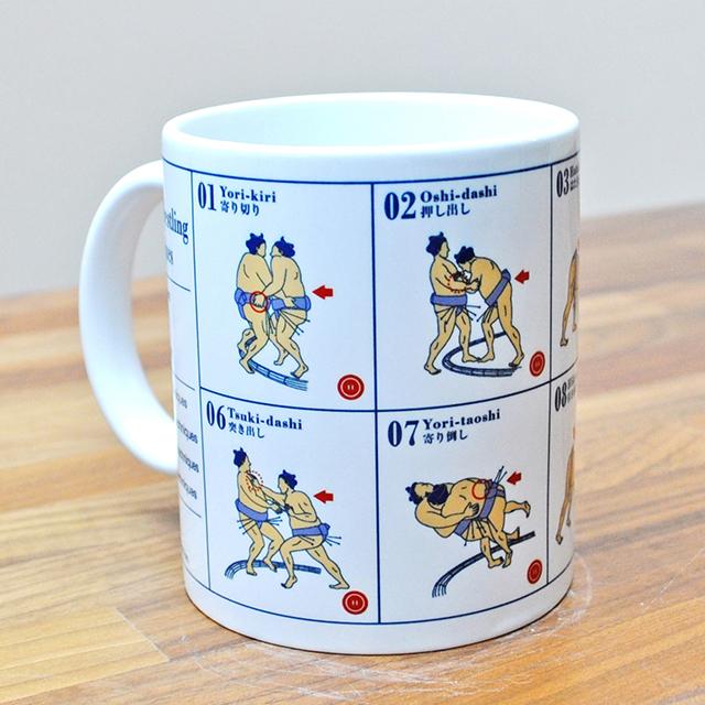 [受注生産] 相撲マグカップ
