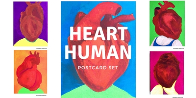 Postcard set / HEART HUMAN