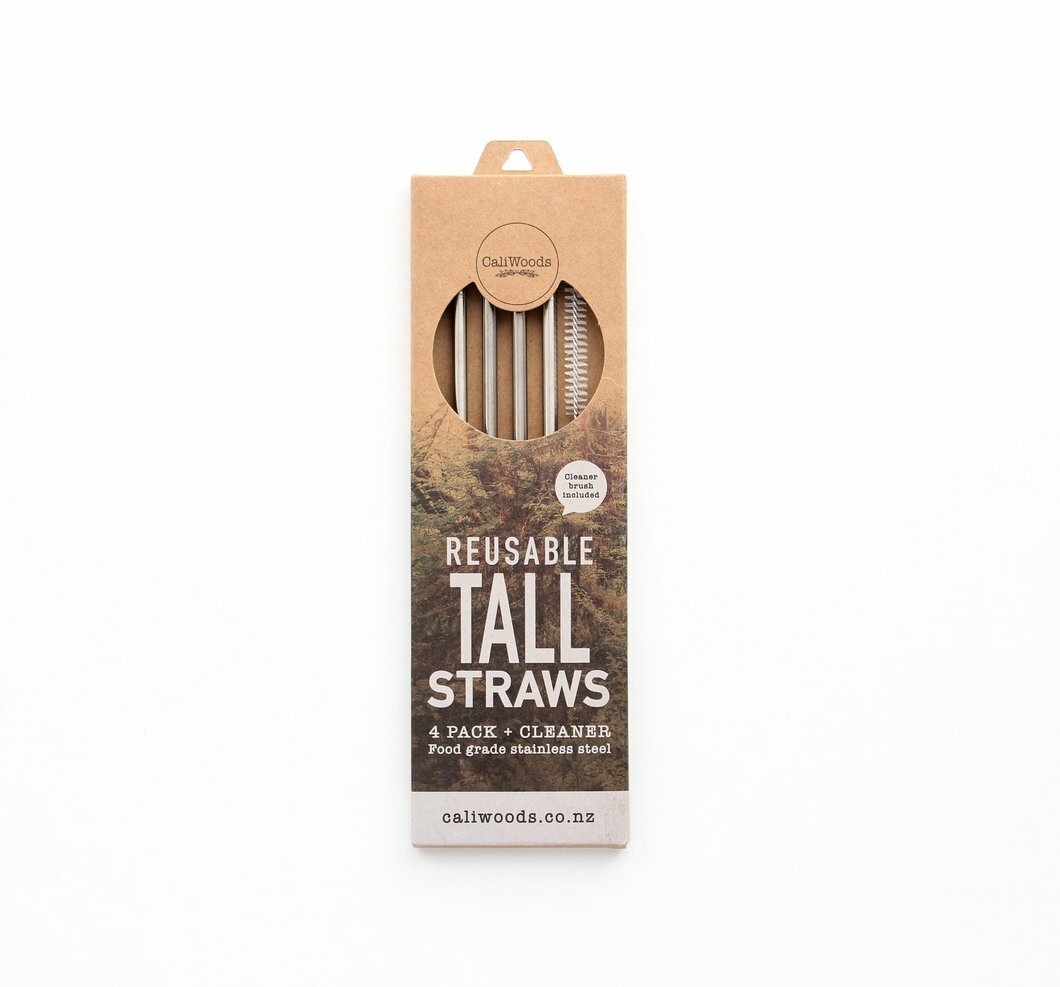 Caliwoods Tall Straws Pack