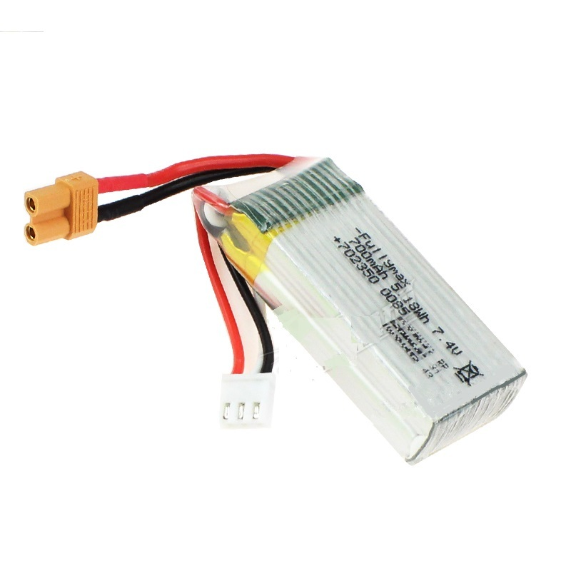 ◆M03-025ーB  互換バッテリー 7.4V700mAh25C