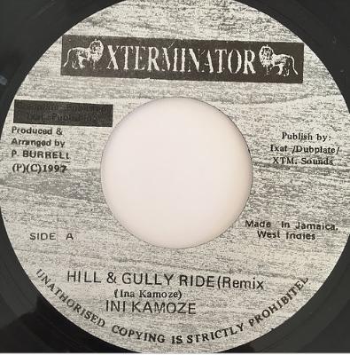 Ini Kamoze(アイニカモーゼ) - Hill & Gully Ride (Remix) 【7'】