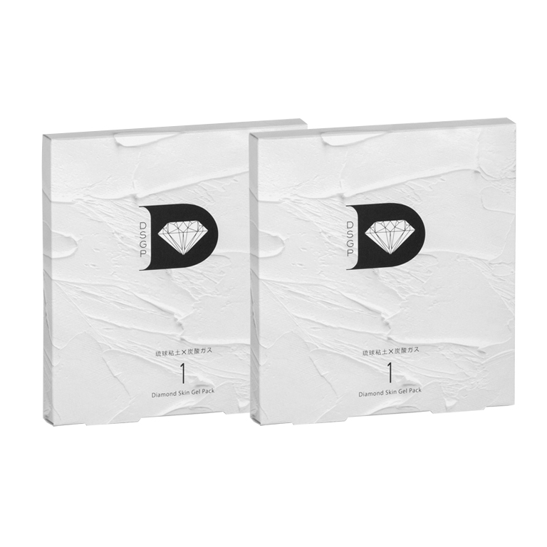 skincare365 ダイヤモンドスキンジェルパック(1包入)×2箱