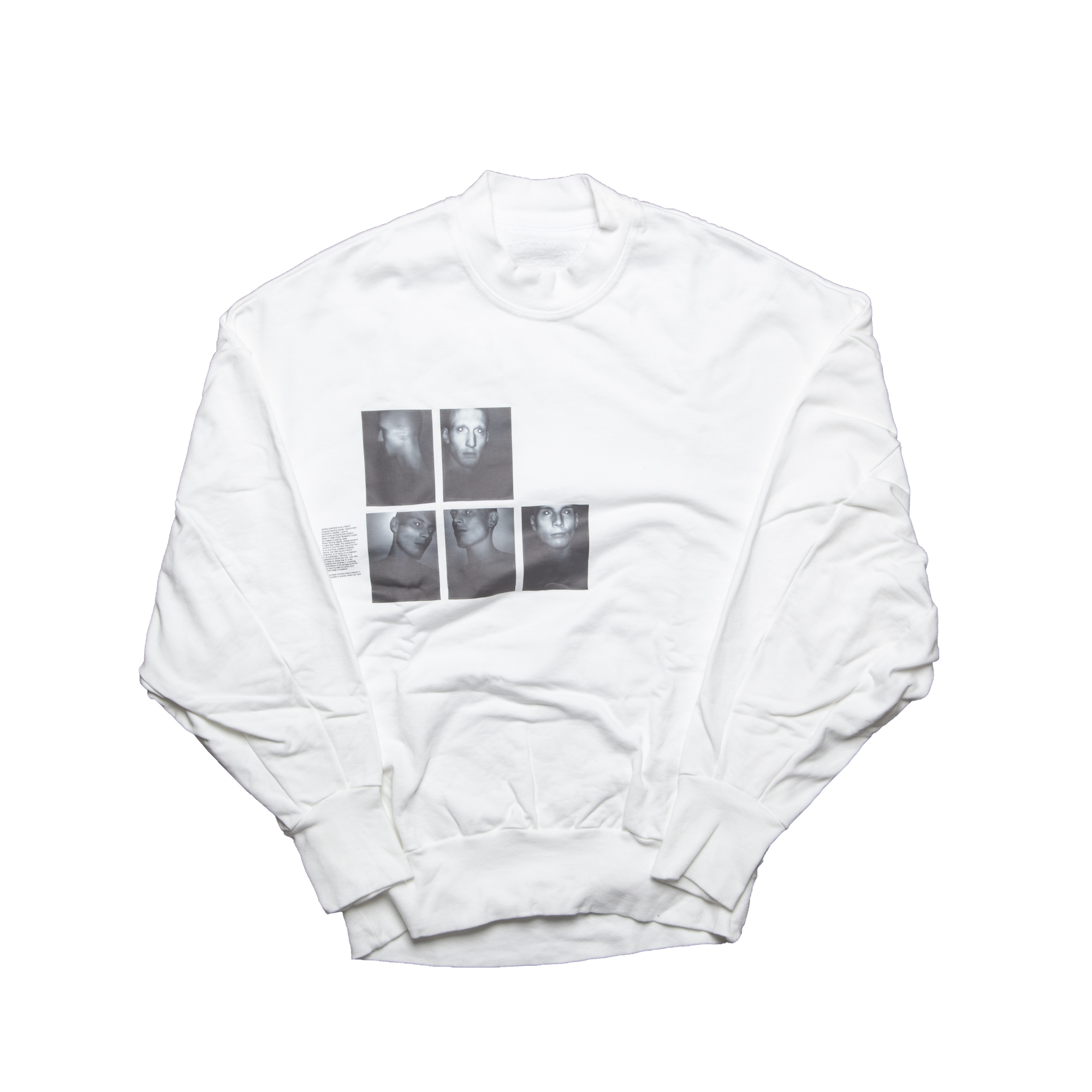 677CPM3-WHITE / P. T. バルーンスウェットシャツ