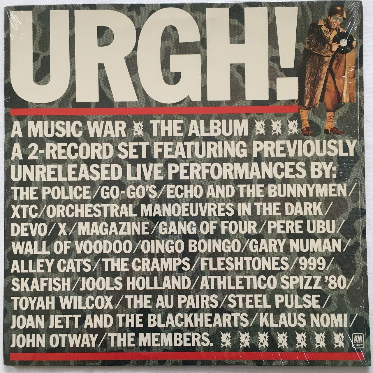 【LP・米盤】Various Artists  /  URGH! A Music War