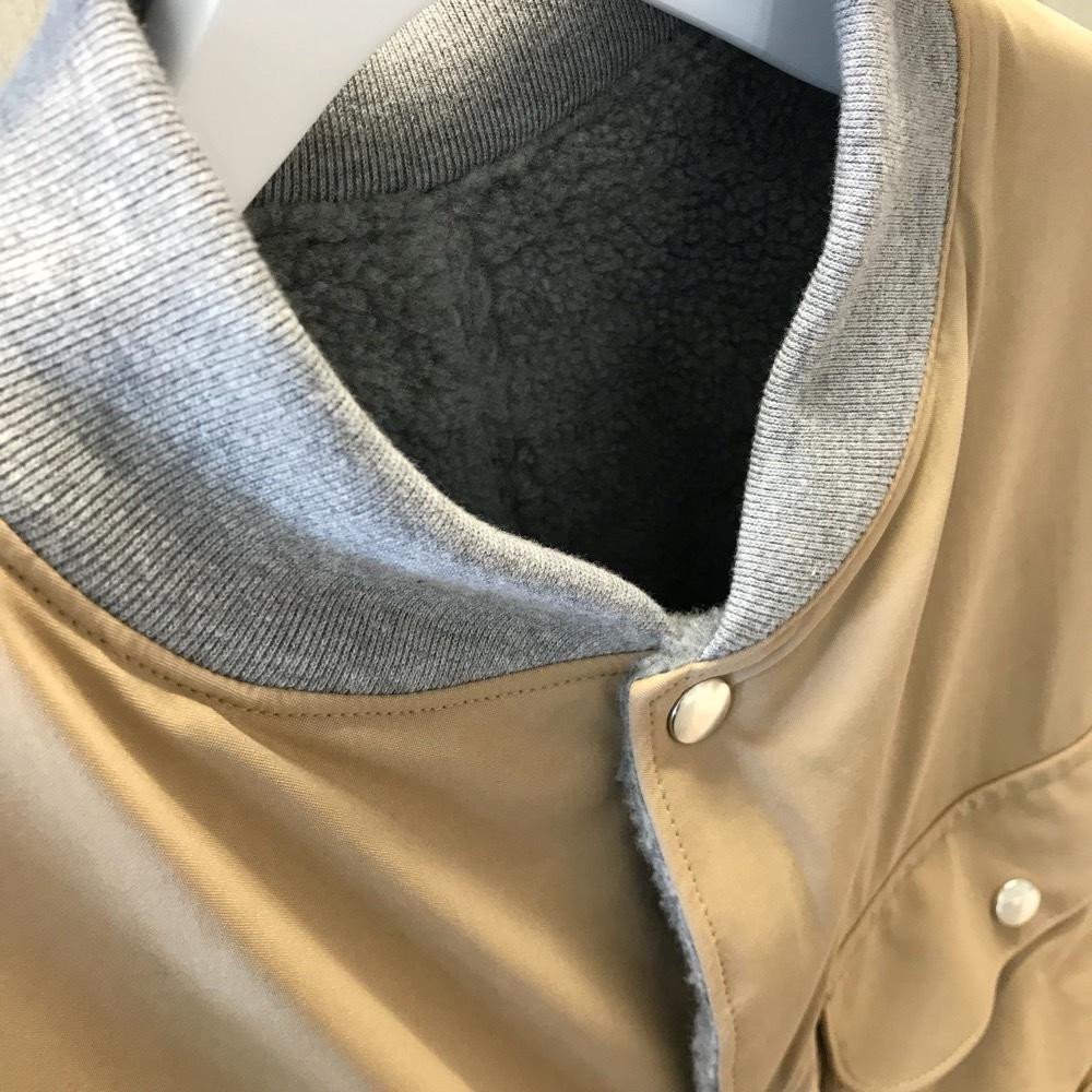 KUON HUNTING COAT 裂き織り