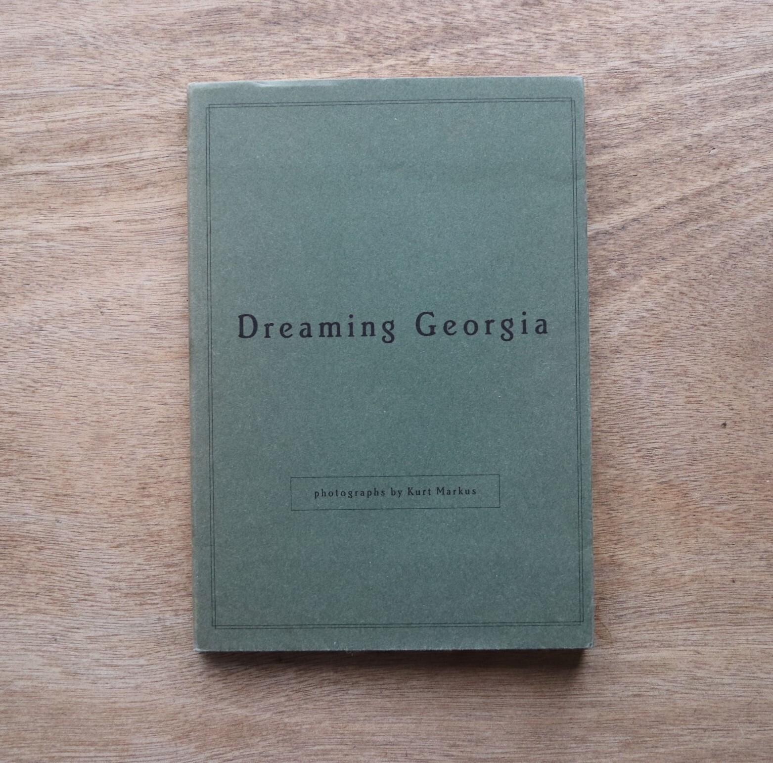 Dreaming Georgia カート・マーカス 写真集 / Kurt Markus