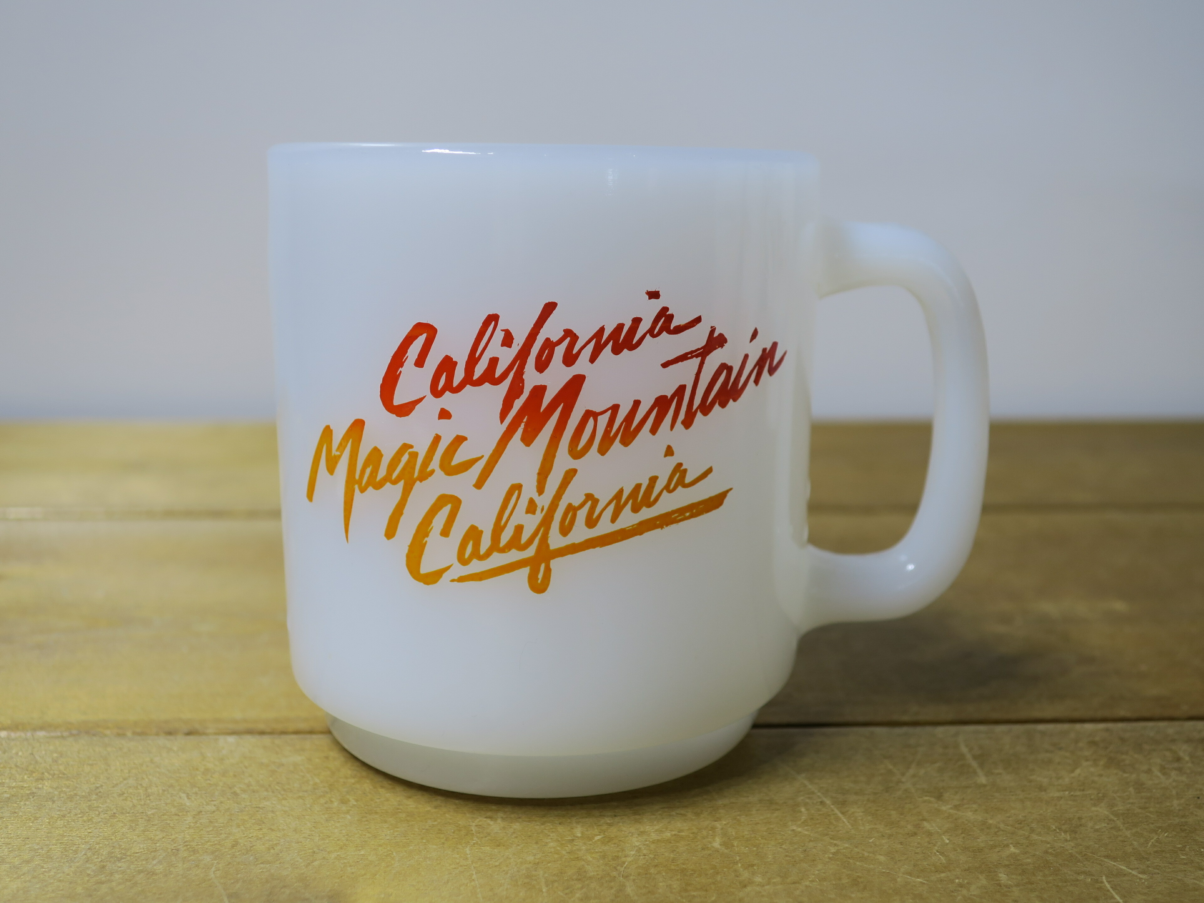 Glasbake スタッキング California Magic Mountain