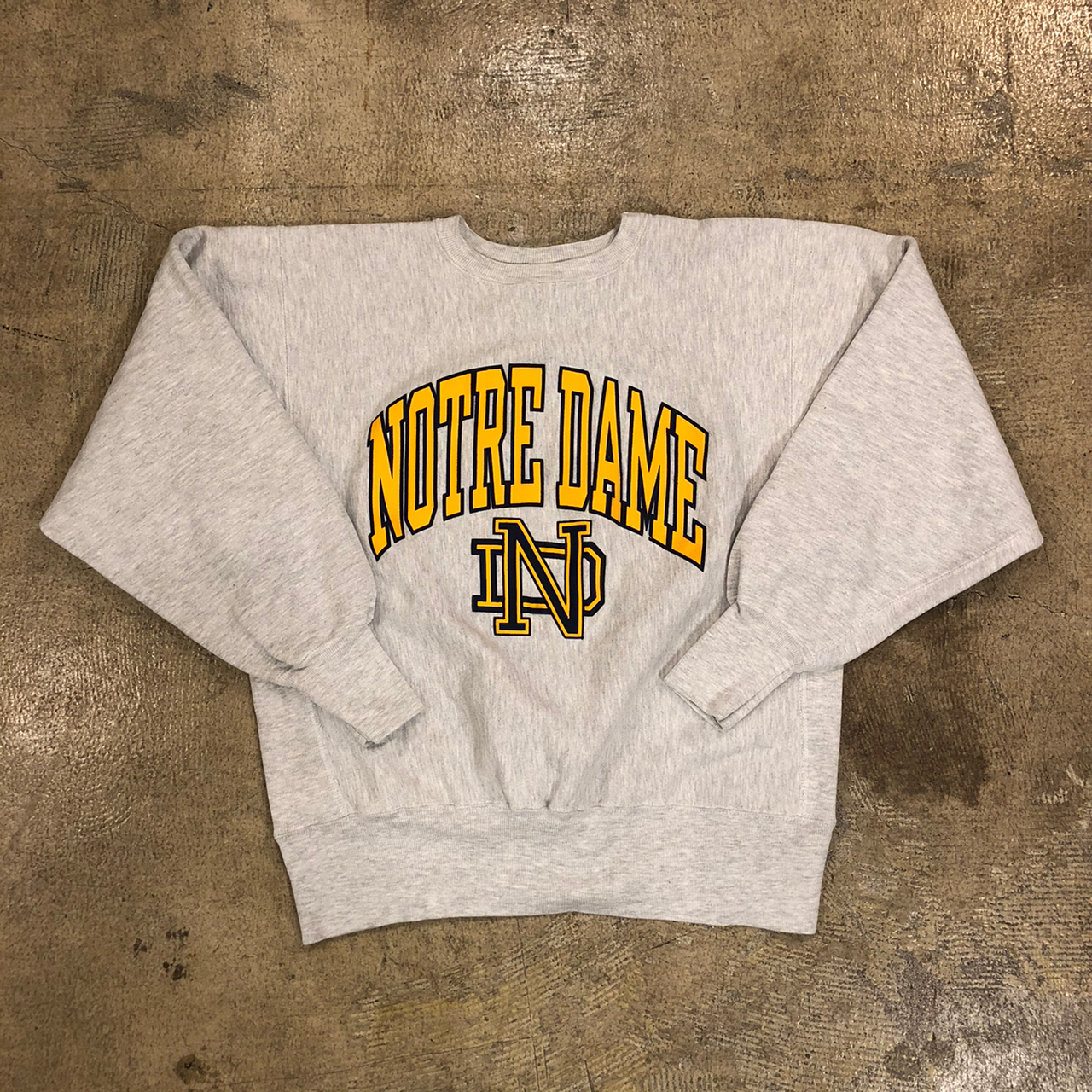 Champion R/W Notre Dame Sweat ¥8,900+tax