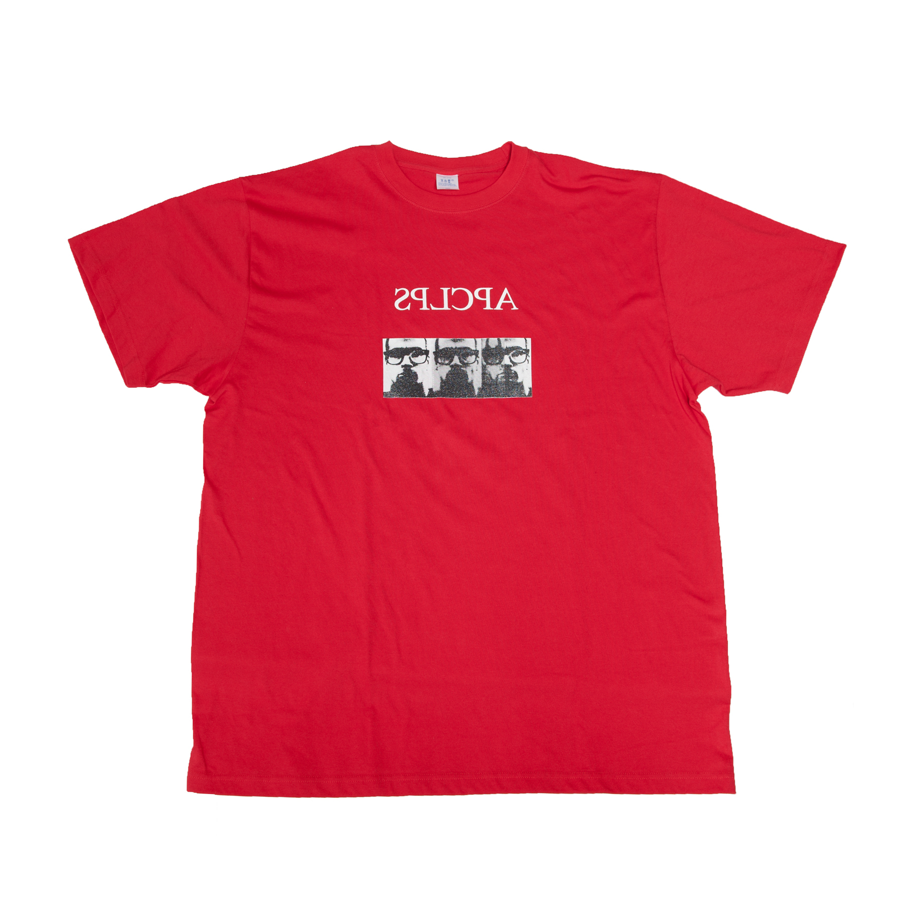 007CPM2-RED / APCLPS STAFF T-SHIRT