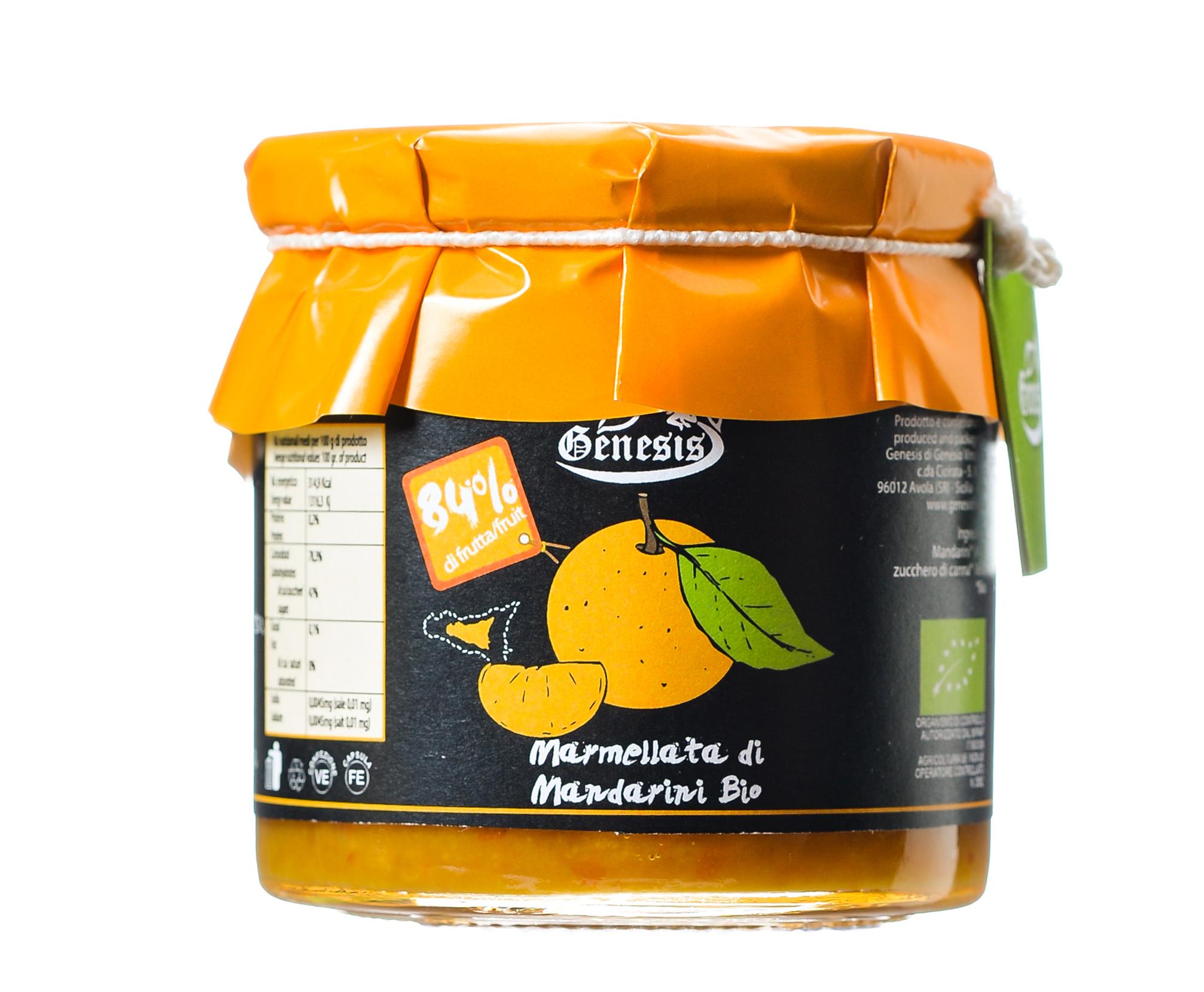 Marmellata di mandarini Bio マンダリンオレンジジャム